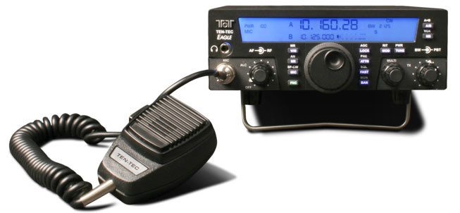 TEN-TEC Model 599AT EAGLE Transceiver, 100 WATTS, IF DSP with Tuner