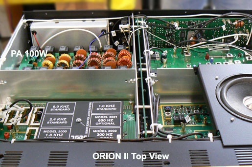 566 Orion II top view